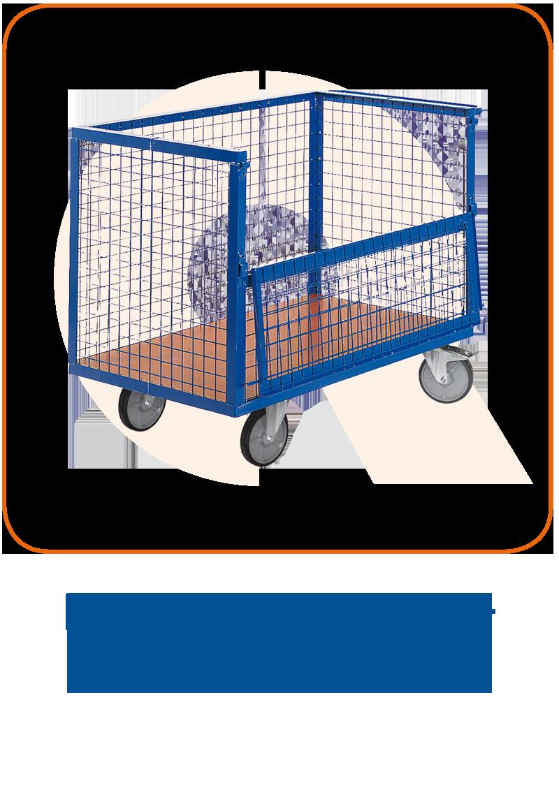 Drahtkastenwagen