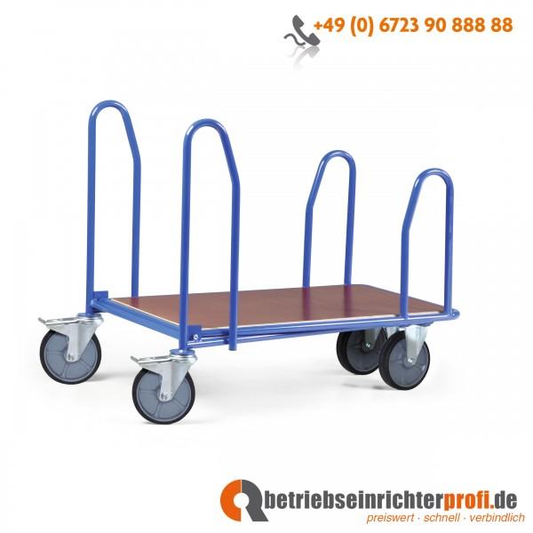 Rotauro CC-Wagen mit Seitenbügeln Ladefläche 1000 × 700 mm, Traglast 300 kg