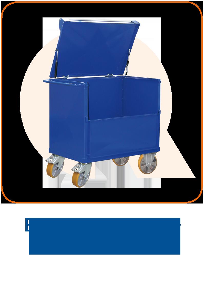 Blechkastenwagen