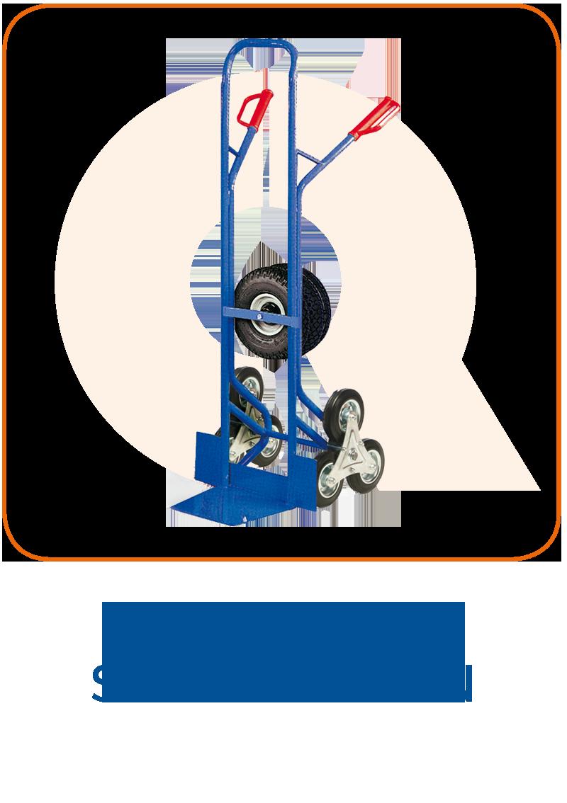 Treppensackkarren