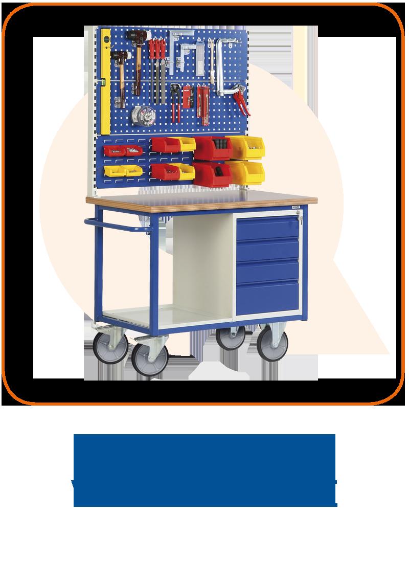 Mobile Werkbänke