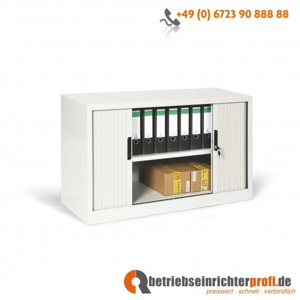 Taurotrade Aufsatzschrank mit Rollladen und 1 Fachboden, 750 x 1200 x 460 mm