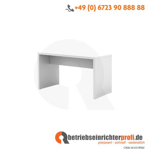 Bistrotisch 130x68x72,8cm (BxTxH) Weiß