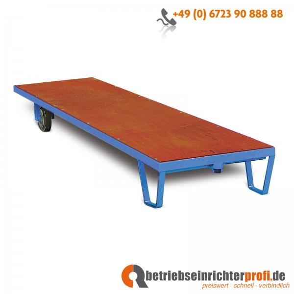 Rotauro Langrollplatte, Ladefläche 3300 x 800 mm, Traglast 1500 kg