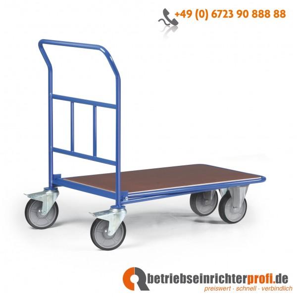 Rotauro CC-Wagen mit 1 Ladefläche 1000× 600 mm, Traglast 300 kg