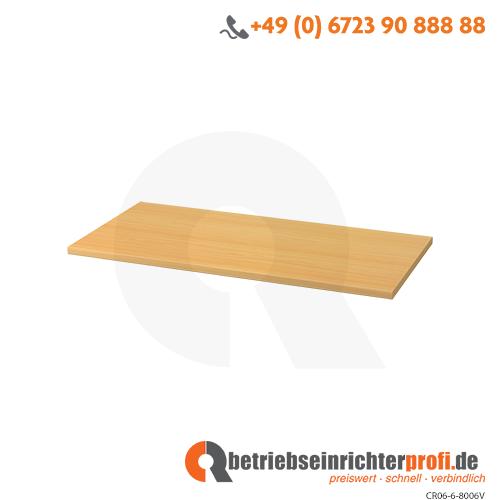 Fachboden 80cm 6/7er Wand Buche