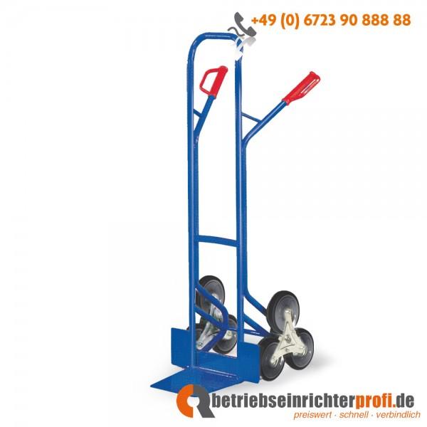 Rotauro Treppenkarre mit Dreisternen, Räder mit grauer TPE-Bereifung, Traglast 200 kg