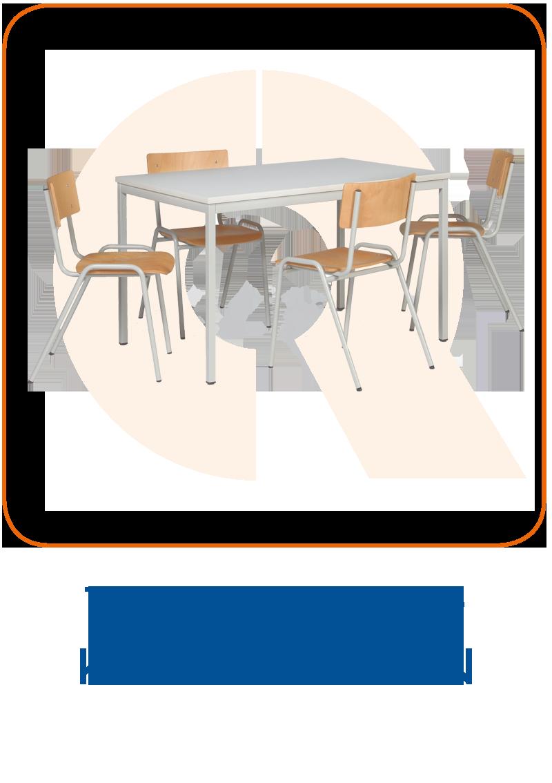 Tisch-Stuhl-Kombinationen